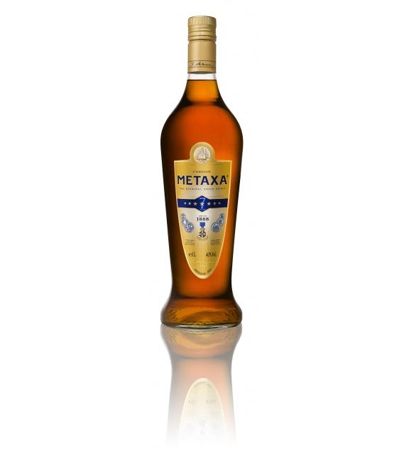 Metaxa 7* Vškatuľke 1l 40%
