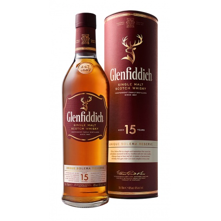 Personalizovaný Glenfiddich 15