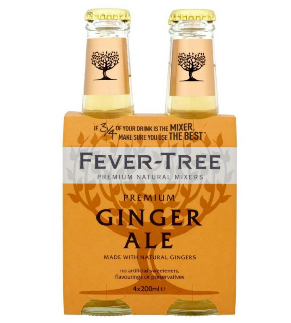 Fever-Tree Ginger Ale 0,2l 4pack