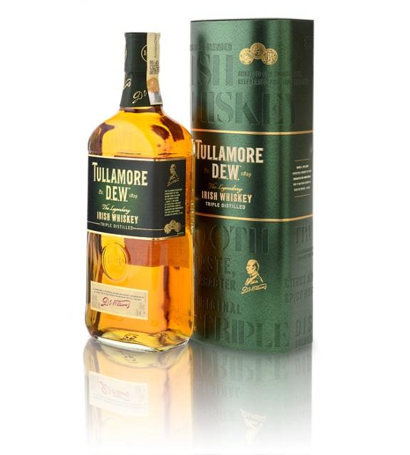 Tullamore DEW 0,7l 40% Darčekové Balenie v Plechovke