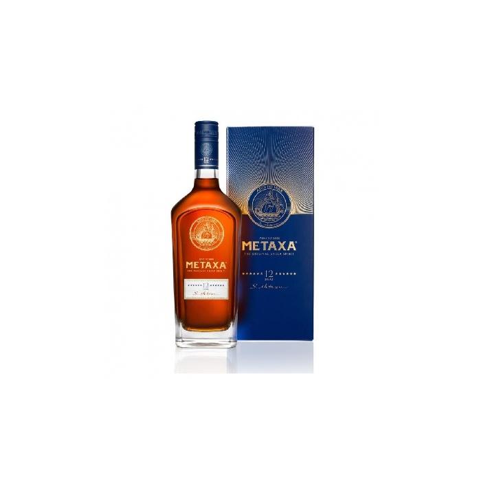 Metaxa 12* v krabičke 0,7l 40%