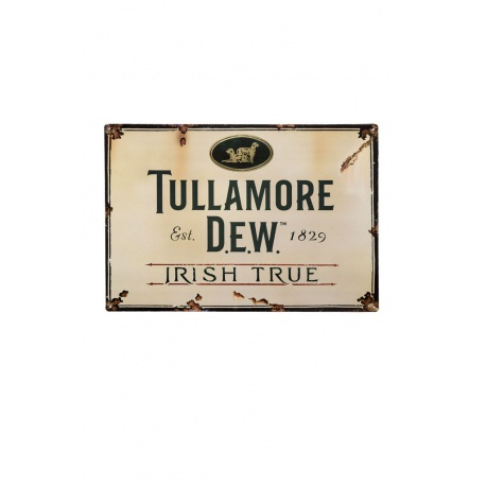 Plechová Ceduľa Tullamore D.E.W.