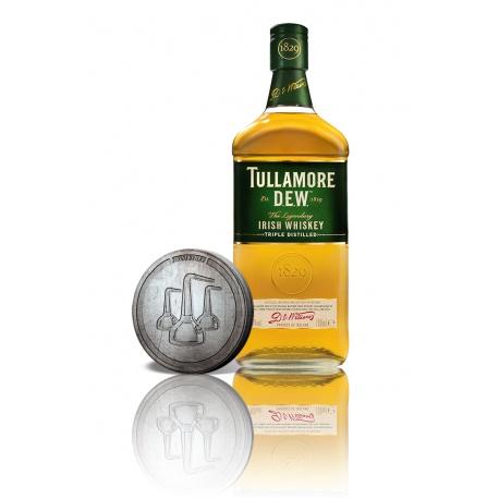 Tullamore DEW 0,7l 40% akciový set so zberateľskou mincou