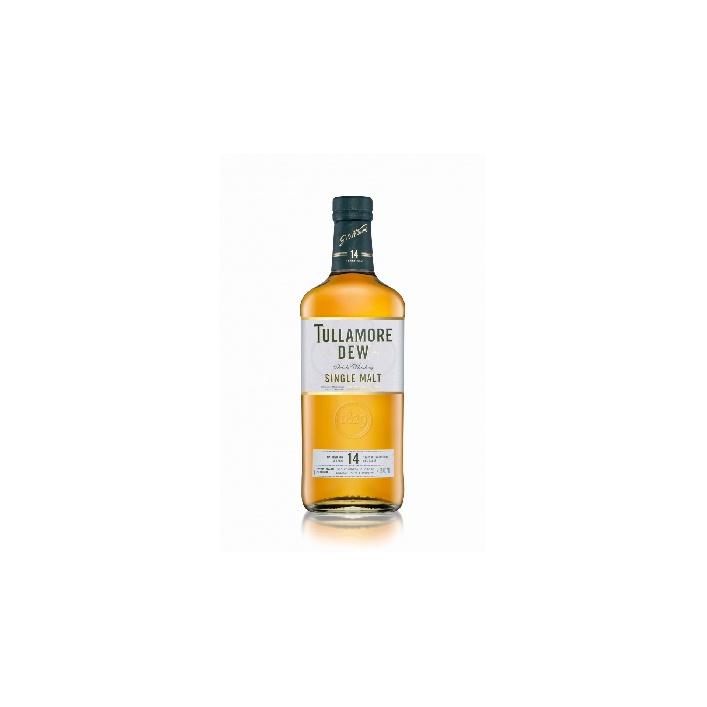 Tullamore D.E.W. 14 YO Single Malt 0,7l 41,3% akciový set so zberateľskou mincou