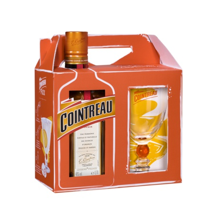 Cointreau Fizz 0,7l 40% darčekové balenie s pohárikom