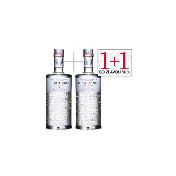 The Botanist Islay Dry Gin 0,7l Akcia 1+1 s 50 % zľavou na druhou flašu