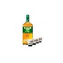 Tullamore D.E.W. 1,75l 40% s 4 keramickými štamperlíkmi