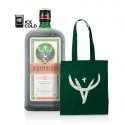 Jägermeister 1l 35% so značkovou látkovou taškou