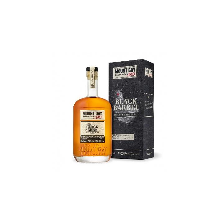 Mount Gay Black Barrel 0,7l 43% v darčekovej krabičke