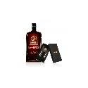 Jägermeister MANIFEST 1l 38% so značkovými trakmi ako darčekom