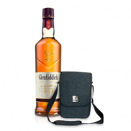 Glenfiddich 15 YO 0,7l 40% +  taška cez rameno