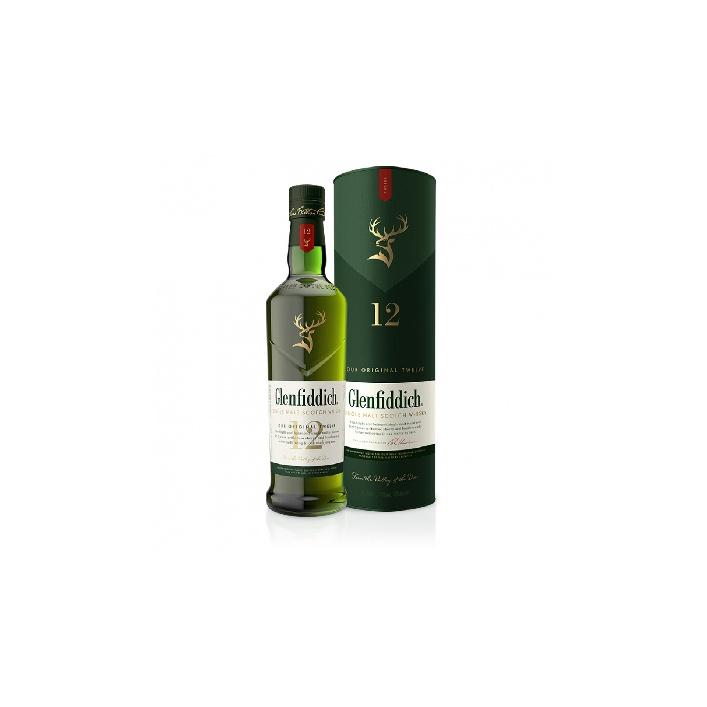 Glenfiddich 12 YO 0,7l 40%
