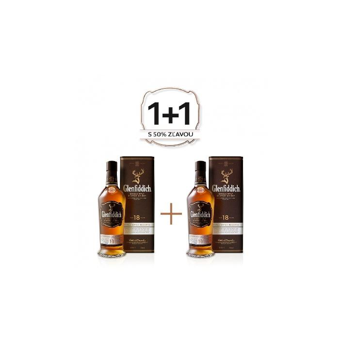 Genfiddich 18 YO 0,7l 40% Akcia 1+1 s druhou fľašou za polovicu