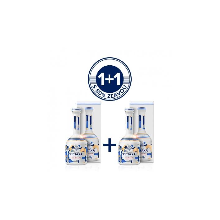 Metaxa Grande Fine 0,7l 40% Akcia 1+1 druha fľaša za polovicu