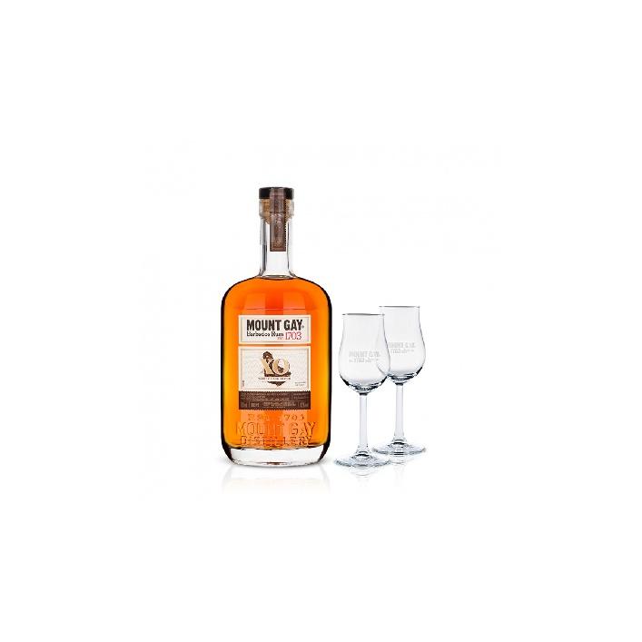 Mount Gay Rum Xo Extra Old 0,7l 43% s dvoma pohárikmi zadarmo