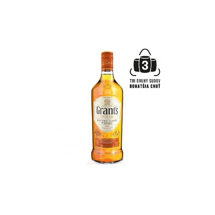 Grant´s Rum Cask Finish 0,7l 40%