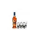 Metaxa 7* 0,7l 40% se 6 pohárikmi naviac